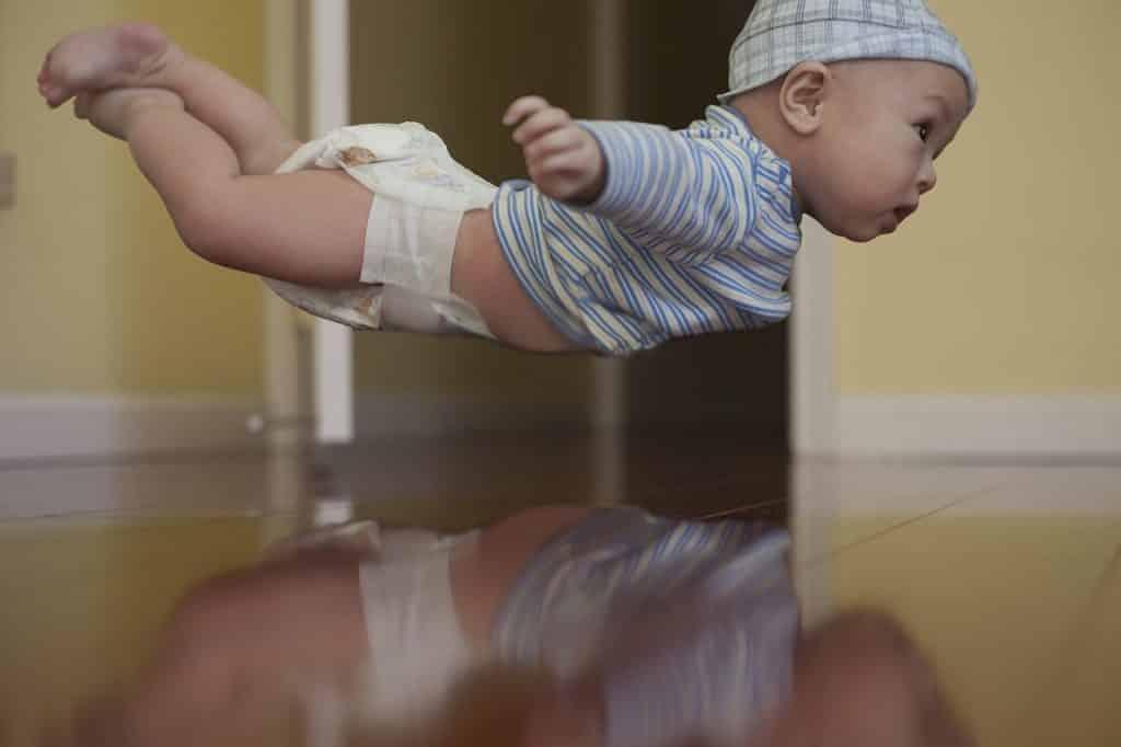 Att flyga med spädbarn