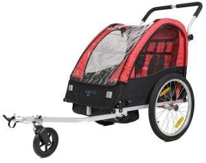 North 13.5 Roadster bästa cykelvagnen test